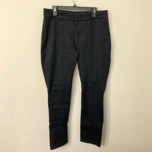 NYDJ BLACK pull on leggings size 12